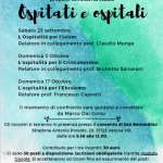 OSPITATI E OSPITALI – seminario di studio